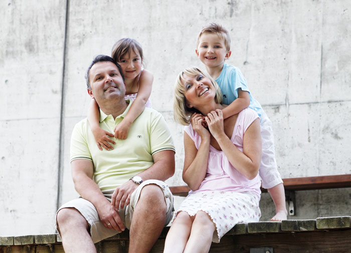 Happy Family Reisen - Ehepaar Voigt mit Kindern