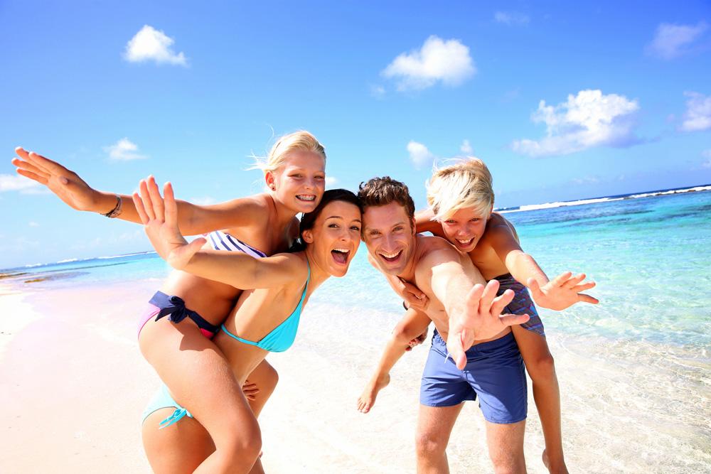 Familienurlaub Sommer Strand