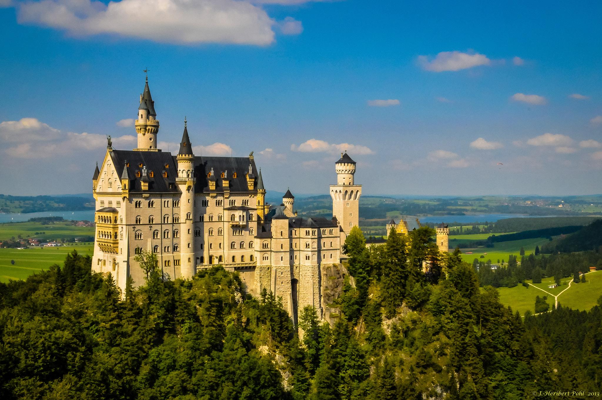 Schloss Neuschwanstein (Quelle: Heribert Pohl, Lizenz )